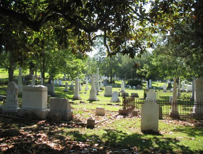 Glenwood Cemetery In Mis... is listed (or ranked) 3 on the list 11 Super Creepy Cemeteries In The US You Can Visit Today