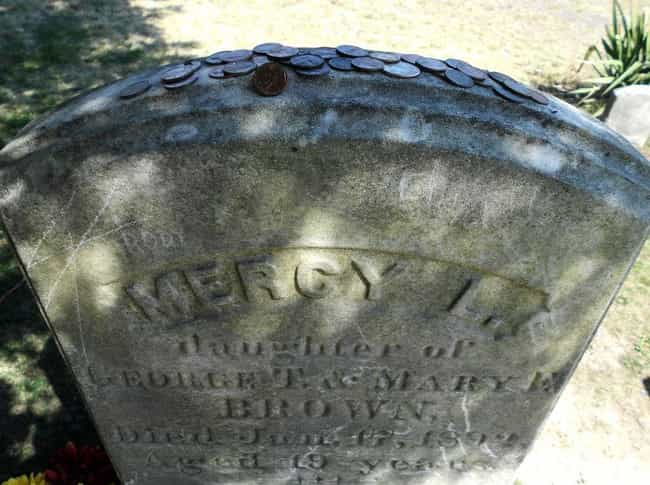 Chestnut Hill Cemetery In Rhod... is listed (or ranked) 4 on the list 11 Super Creepy Cemeteries In The U.S. You Can Visit Today
