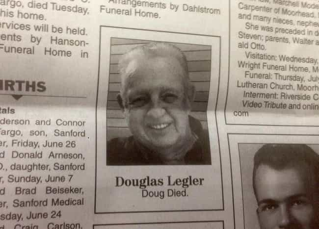 16 Funny Obituaries That Prove You Can Still Be Funny After Death