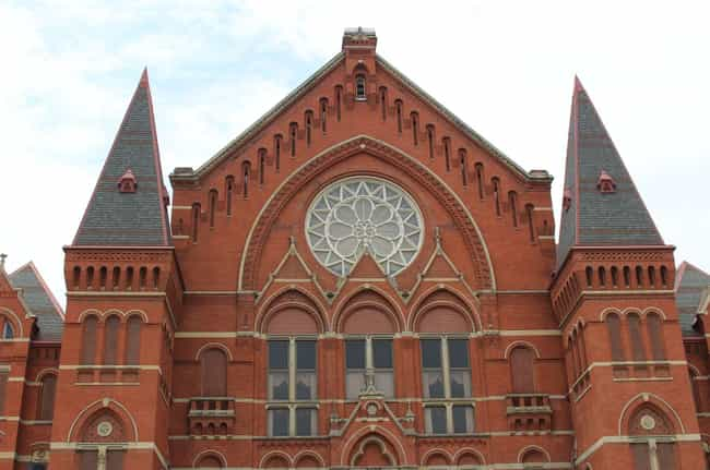 Cincinnati Music Hall Is Less ... is listed (or ranked) 1 on the list 12 Ghost Stories And Urban Legends That Prove Ohio Is The Creepiest State