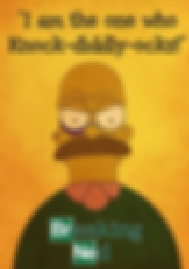 Breaking Ned is listed (or ranked) 2 on the list 22 Funny Cartoon Mashups We Wish Would Really Happen