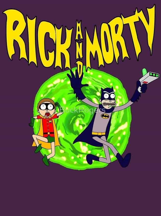 Rick & Morty meets B... is listed (or ranked) 4 on the list 22 Funny Cartoon Mashups We Wish Would Really Happen