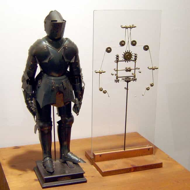 Da Vinci Designed A Robot Knig... is listed (or ranked) 4 on the list Turns Out Humans Have Been Creating Robots For Hundreds Of Years