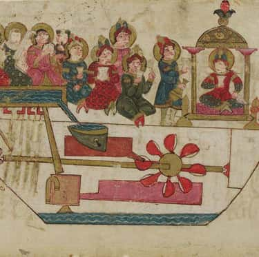 Al-Jazari Made A Musical Robot Band In The 11th Century