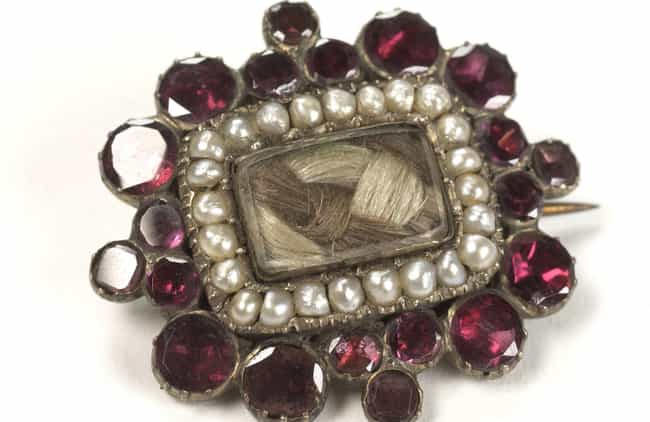 Jewelry Was Made From Th... is listed (or ranked) 1 on the list 14 Extremely Bizarre Ways People From Victorian England Mourned The Dead