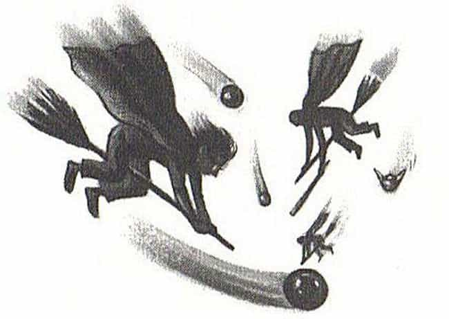 Chapter 11 - Quidditch is listed (or ranked) 4 on the list The Best Chapter Page Art from Harry Potter and the Sorcerer's Stone