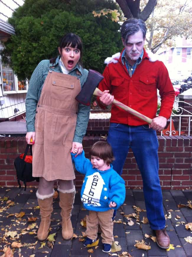 REDRUM for the Whole Family, T... is listed (or ranked) 1 on the list The Best Stephen King-Inspired Costumes