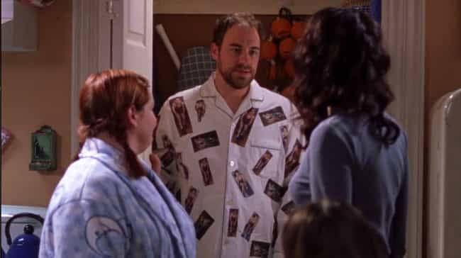 Wrestling Pajamas is listed (or ranked) 4 on the list 15 Gilmore Girls Outfits That Were Too Hideous to Forget