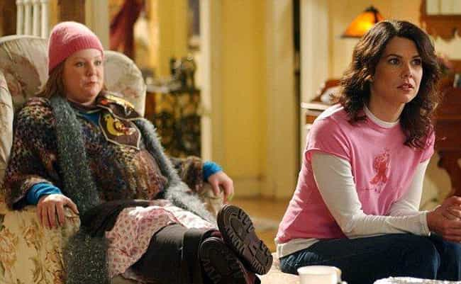 The Mismatched Knitwear ... is listed (or ranked) 2 on the list 15 Gilmore Girls Outfits That Were Too Hideous to Forget