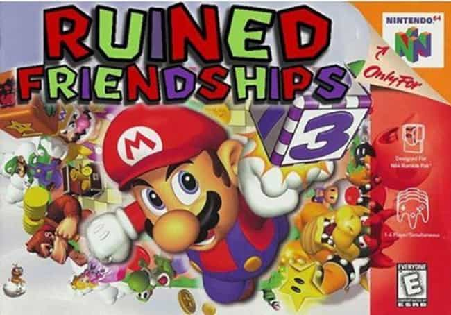 Keep Your Friends Close.... is listed (or ranked) 4 on the list 31 Hilariously Honest Video Game Titles That Save Everybody Time