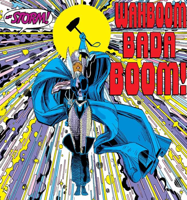 Storm Refuses the Power ... is listed (or ranked) 4 on the list 10 Epic Moments When Storm Was the Baddest Member of the X-Men