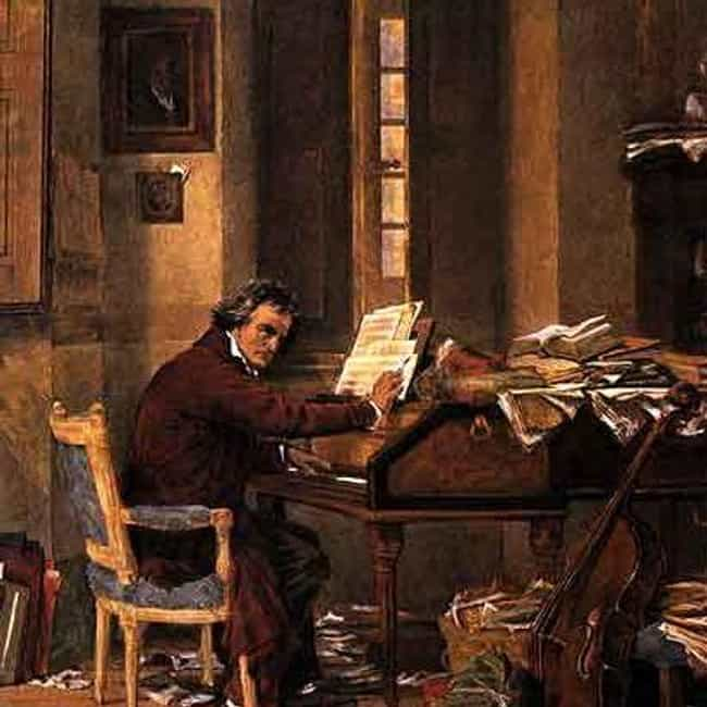 He Was A Slob, Dressed Poorly,... is listed (or ranked) 6 on the list 18 Grim Facts About The Life Of Beethoven You Never Learned As A Kid