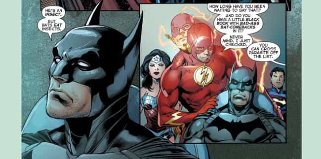 Some Much-Needed Comic R... is listed (or ranked) 2 on the list The 15 Flat-Out Funniest Moments from The Flash Comics