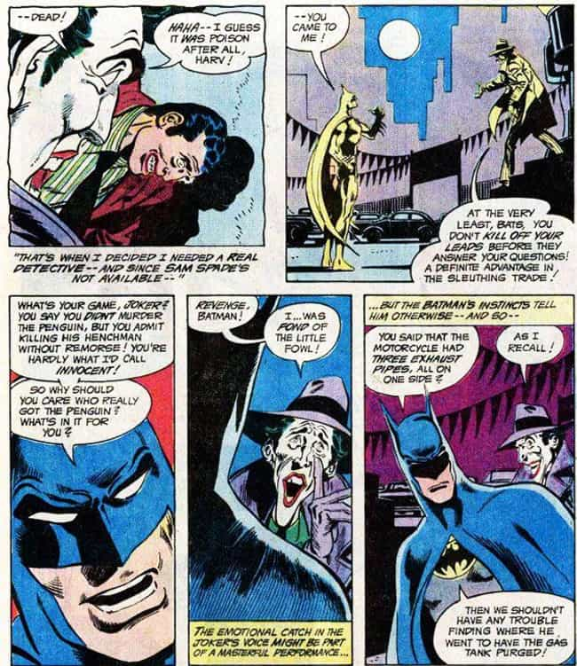 When the Joker Was Framed for ... is listed (or ranked) 3 on the list 15 Times Batman and the Joker Actually Worked Together (No, Really)