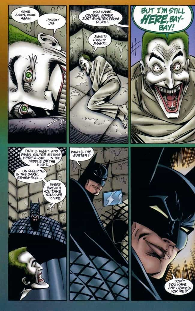 When Batman Believed the... is listed (or ranked) 4 on the list 15 Times Batman and the Joker Actually Worked Together (No, Really)