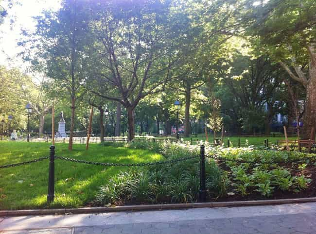 Washington Square Park Is Actu... is listed (or ranked) 2 on the list 14 Hidden And Forgotten Cemeteries Across The Northeast United States