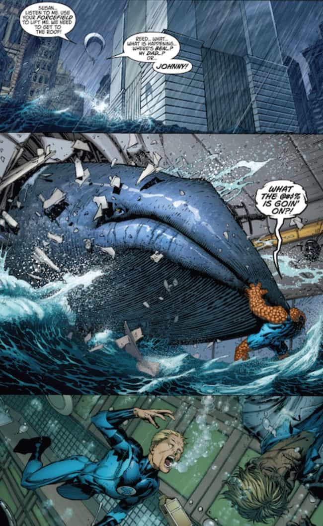 The Ultimatum Wave Kills Milli... is listed (or ranked) 1 on the list The 13 Worst Natural Disasters in Comic Book History