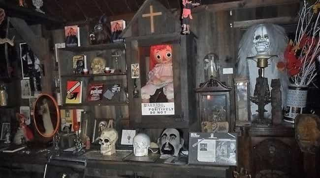 Annabelle The Demonic Doll is listed (or ranked) 2 on the list 11 Ghost Stories And Urban Legends From Connecticut
