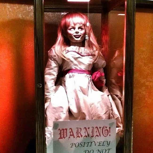 Annabelle The Demonic Do... is listed (or ranked) 2 on the list 11 Ghost Stories And Urban Legends From Connecticut