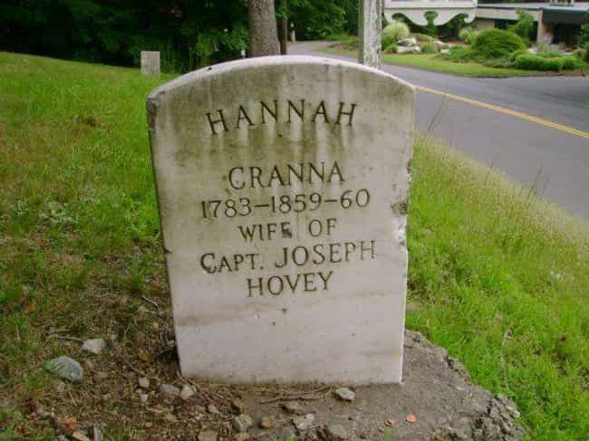 The Ghost Of The Witch 'Hannah... is listed (or ranked) 4 on the list 11 Ghost Stories And Urban Legends From Connecticut