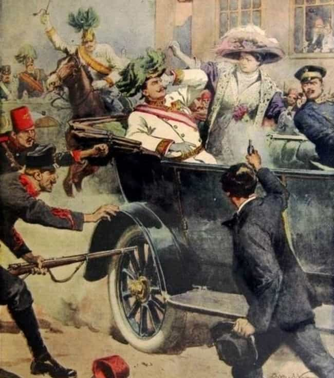 The Crappy Reverse Function on... is listed (or ranked) 5 on the list 7 Insane Facts About the Absurd Circumstances of Franz Ferdinand's Assassination