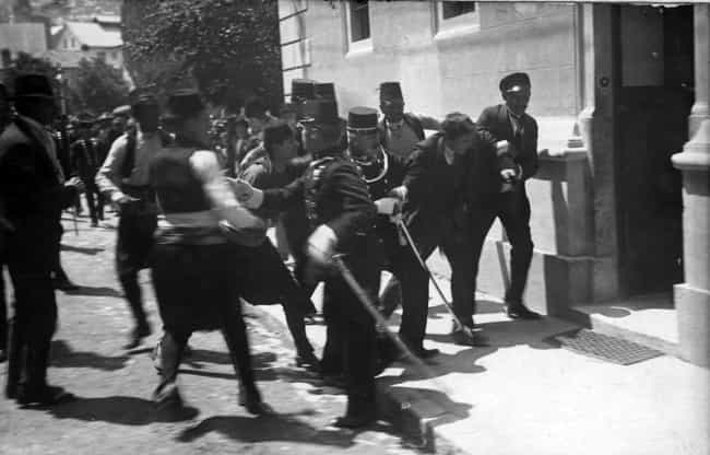 Princip Started WWI with Two B... is listed (or ranked) 6 on the list 7 Insane Facts About the Absurd Circumstances of Franz Ferdinand's Assassination