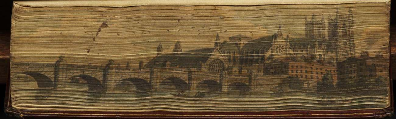 Manuscript and Receipt Book is listed (or ranked) 4 on the list 16 Fore-Edge Paintings You'll Love, Even If You Don't Like Books