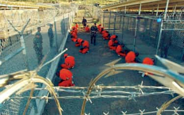 Guantanamo Bay, Inside and Out is listed (or ranked) 1 on the list What Really Happens at Guantanamo Bay, from Waterboarding to Pizza Hut