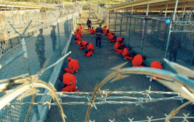 Guantanamo Bay, Inside a... is listed (or ranked) 1 on the list What Really Happens at Guantanamo Bay, from Waterboarding to Pizza Hut