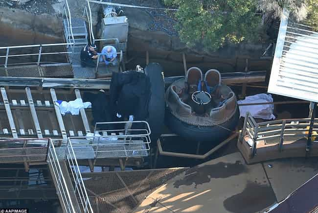 River Rapids's Watery Gr... is listed (or ranked) 2 on the list The Worst Amusement Park Ride Accidents