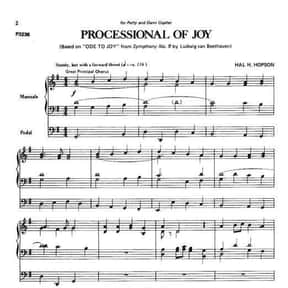 Processional of Joy is listed (or ranked) 23 on the list The Best Songs for Walking Down the Aisle
