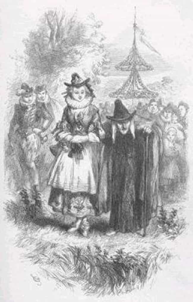 Witches is listed (or ranked) 4 on the list 12 Scary Halloween Symbols And Their Origins