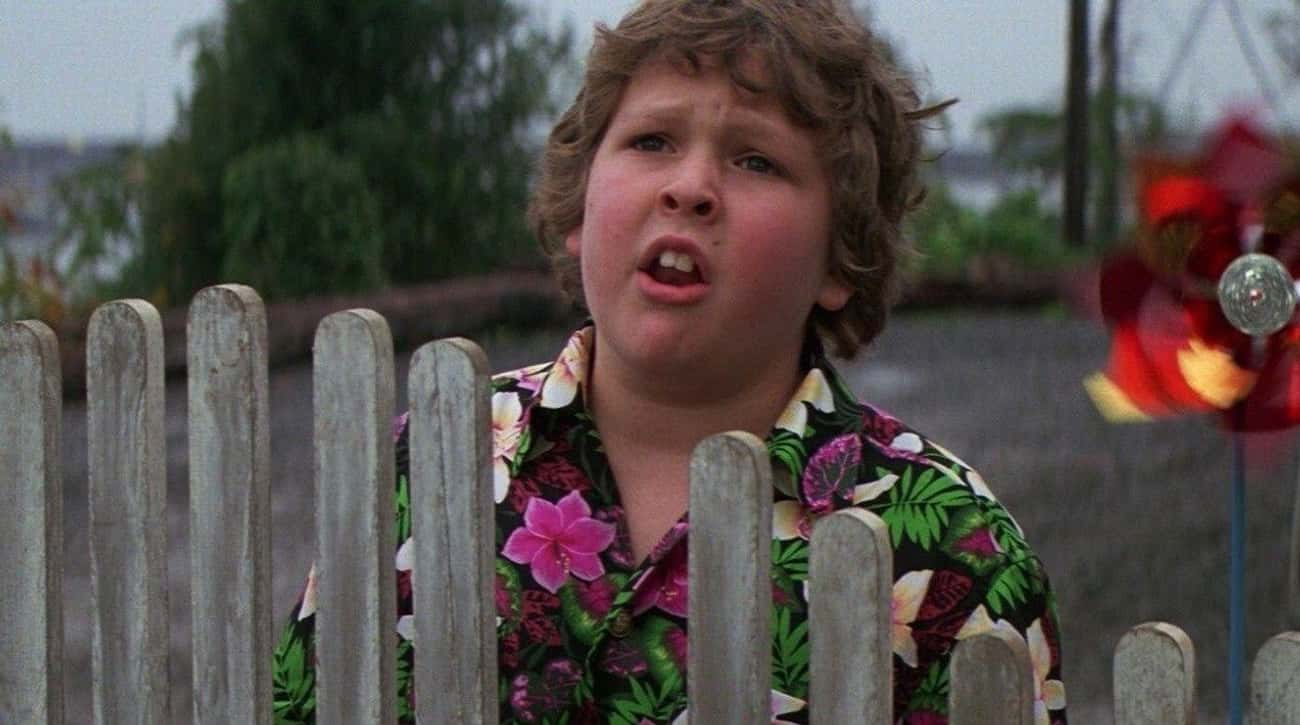 The Kids Are A Bunch Of Little is listed (or ranked) 2 on the list Things You Have To Ignore In Order To Enjoy Watching 'The Goonies'