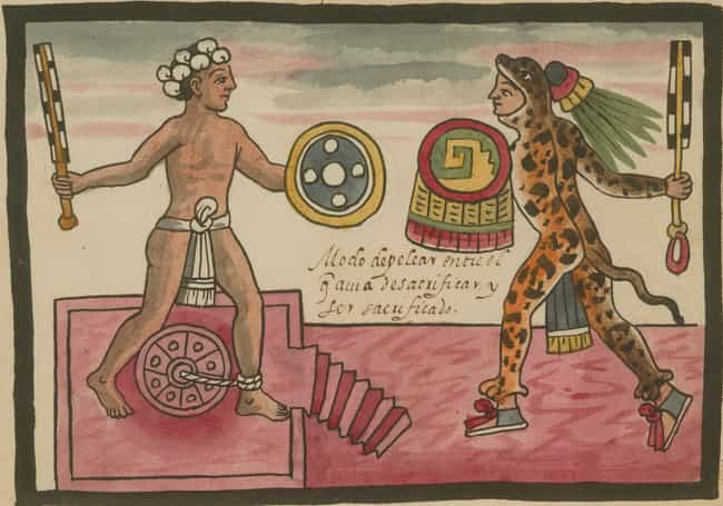 They Make You Defend You... is listed (or ranked) 1 on the list 10 Horrifying Things That Would Happen to You in an Aztec Flaying Ceremony