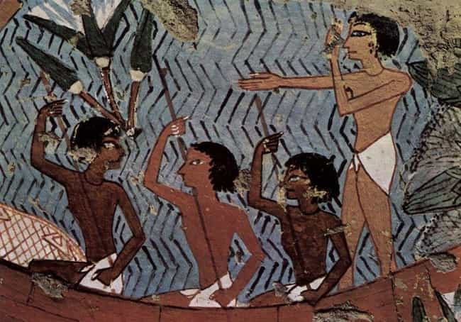 They Braved Vicious Hipp... is listed (or ranked) 1 on the list 16 Strange Facts About What Everyday Life Was Like In Ancient Egypt