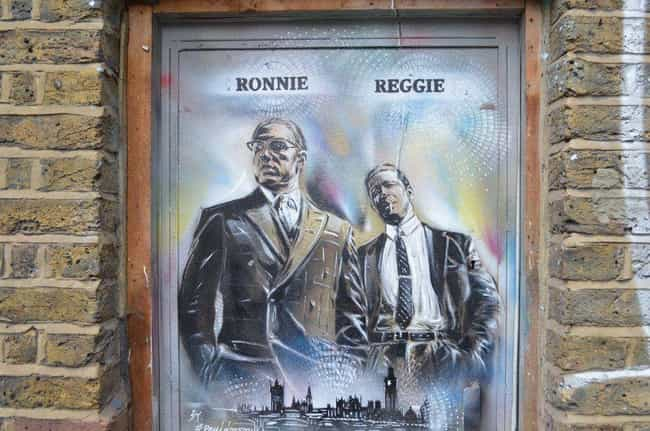 Reggie And Ronnie Kray ... is listed (or ranked) 4 on the list 12 Pairs Of Twins Who Committed Murder Together