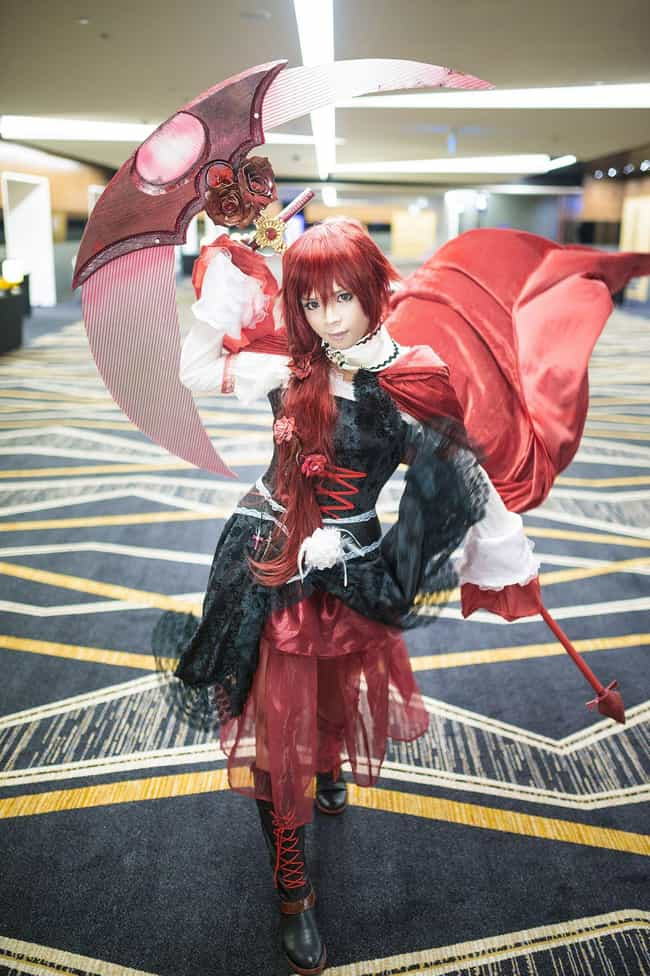 Ruby Has Never Looked So Grace... is listed (or ranked) 2 on the list 15 Dudes Who Turned Crossplay Into High Art