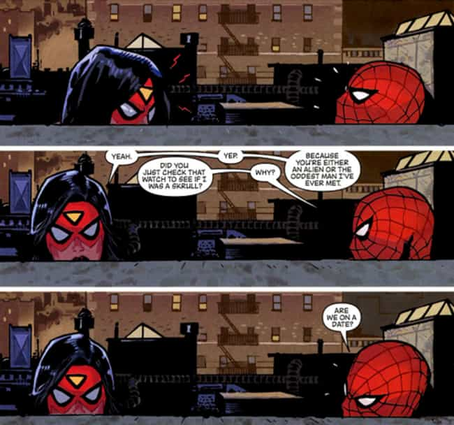 The Oddest Man Ever is listed (or ranked) 6 on the list 15 of the Funniest Moments from Spider-Man Comics