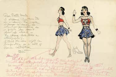 Her Ensemble Was Designed by J is listed (or ranked) 1 on the list 8 Secret Calls to Feminism Hidden in Wonder Woman's Costume