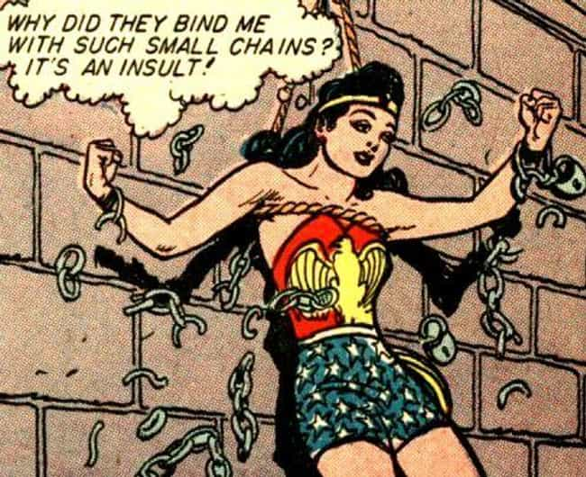 Her Chains Were Inspired... is listed (or ranked) 2 on the list 8 Secret Calls to Feminism Hidden in Wonder Woman's Costume