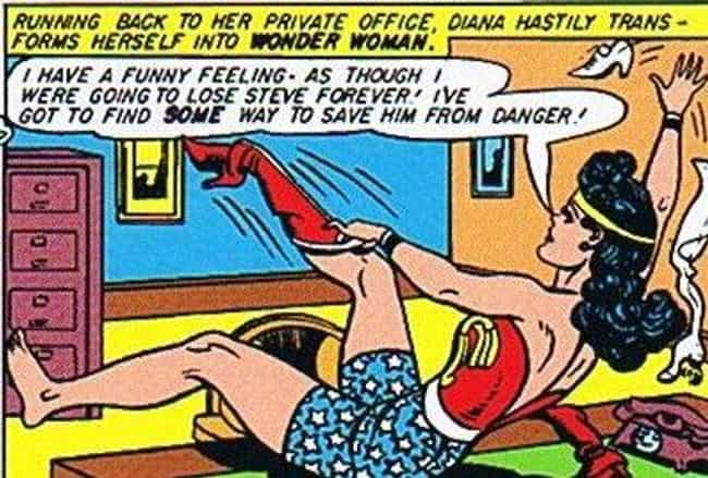 The Color Red Is Histori... is listed (or ranked) 3 on the list 8 Secret Calls to Feminism Hidden in Wonder Woman's Costume