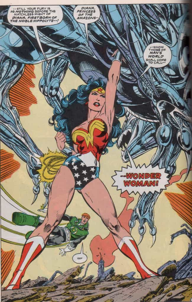WW Stands for More Than ... is listed (or ranked) 4 on the list 8 Secret Calls to Feminism Hidden in Wonder Woman's Costume