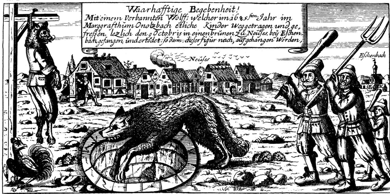 In 1685, The Mayor Became 'The is listed (or ranked) 3 on the list 11 Historical 'Werewolves' That Terrorized Villages Around The World