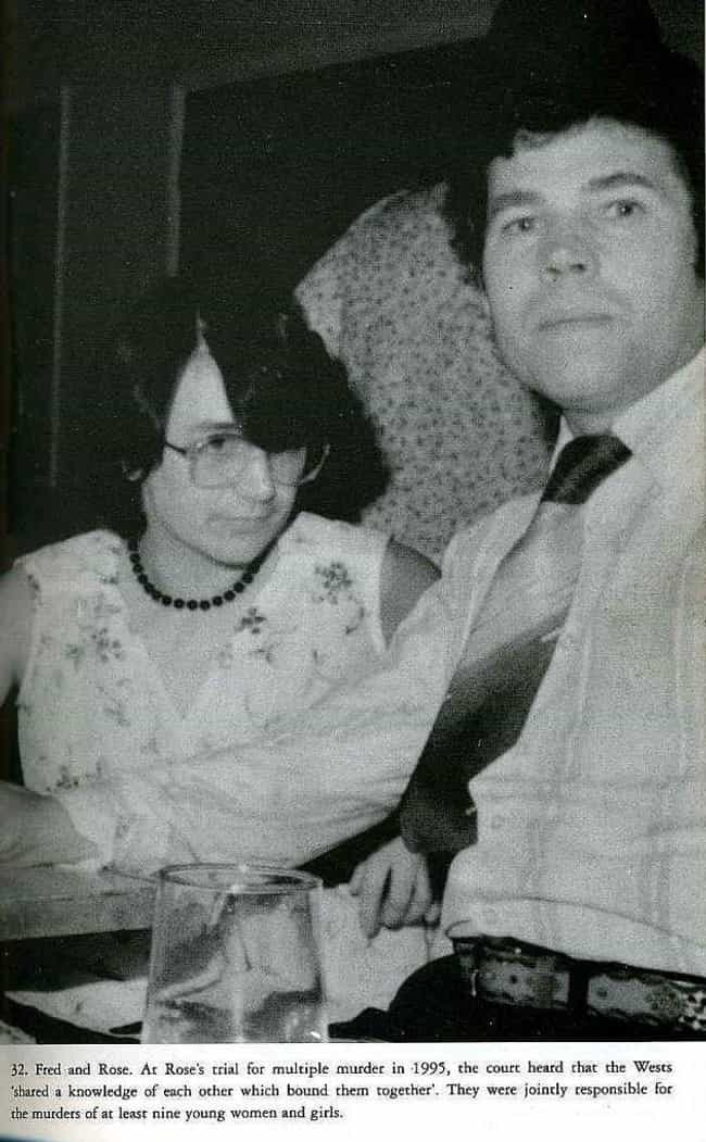 Fred And Rosemary West is listed (or ranked) 3 on the list 10 Shocking Cases of Incest That Led to Murder