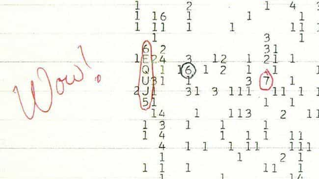 The Wow! Signal Could Be a Mes... is listed (or ranked) 2 on the list 9 Freaky and Unexplained Scientific Anomalies