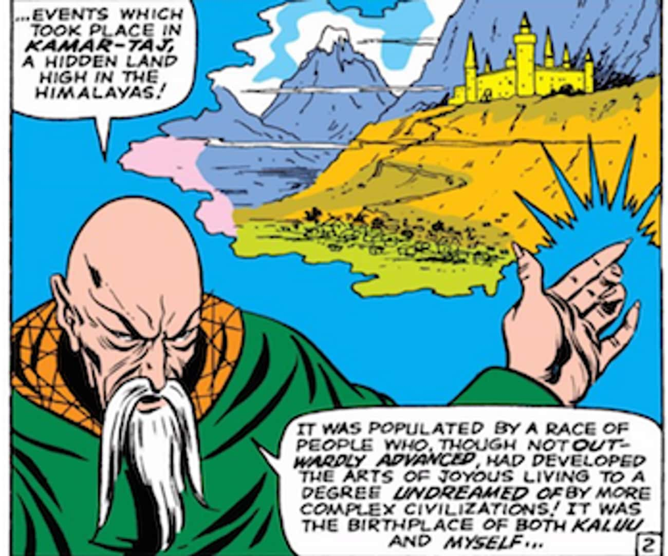 Eastern Mysticism Abounds is listed (or ranked) 1 on the list Everything Doctor Strange Basically Stole from The Shadow