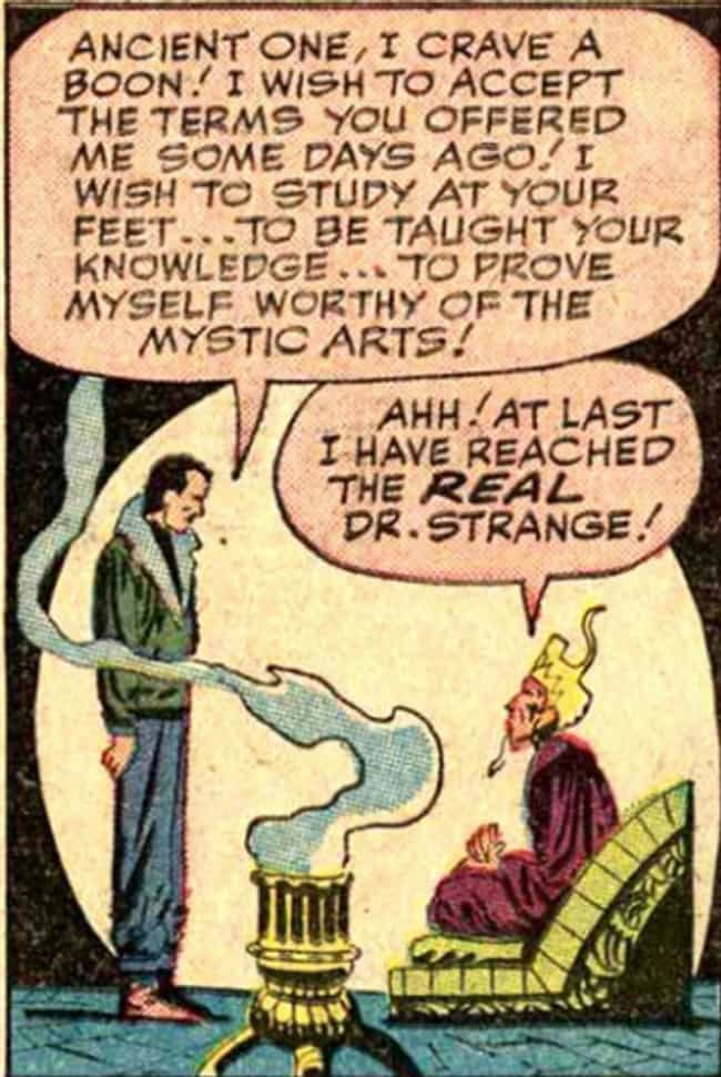 They Both Have a Bald As... is listed (or ranked) 2 on the list Everything Doctor Strange Basically Stole from The Shadow