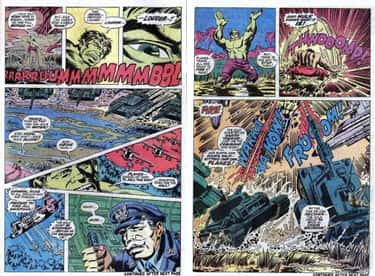 Tanks Are for Idiots is listed (or ranked) 2 on the list 11 Hulk Comic Moments That Were Way More Destructive Than the Movie Scenes