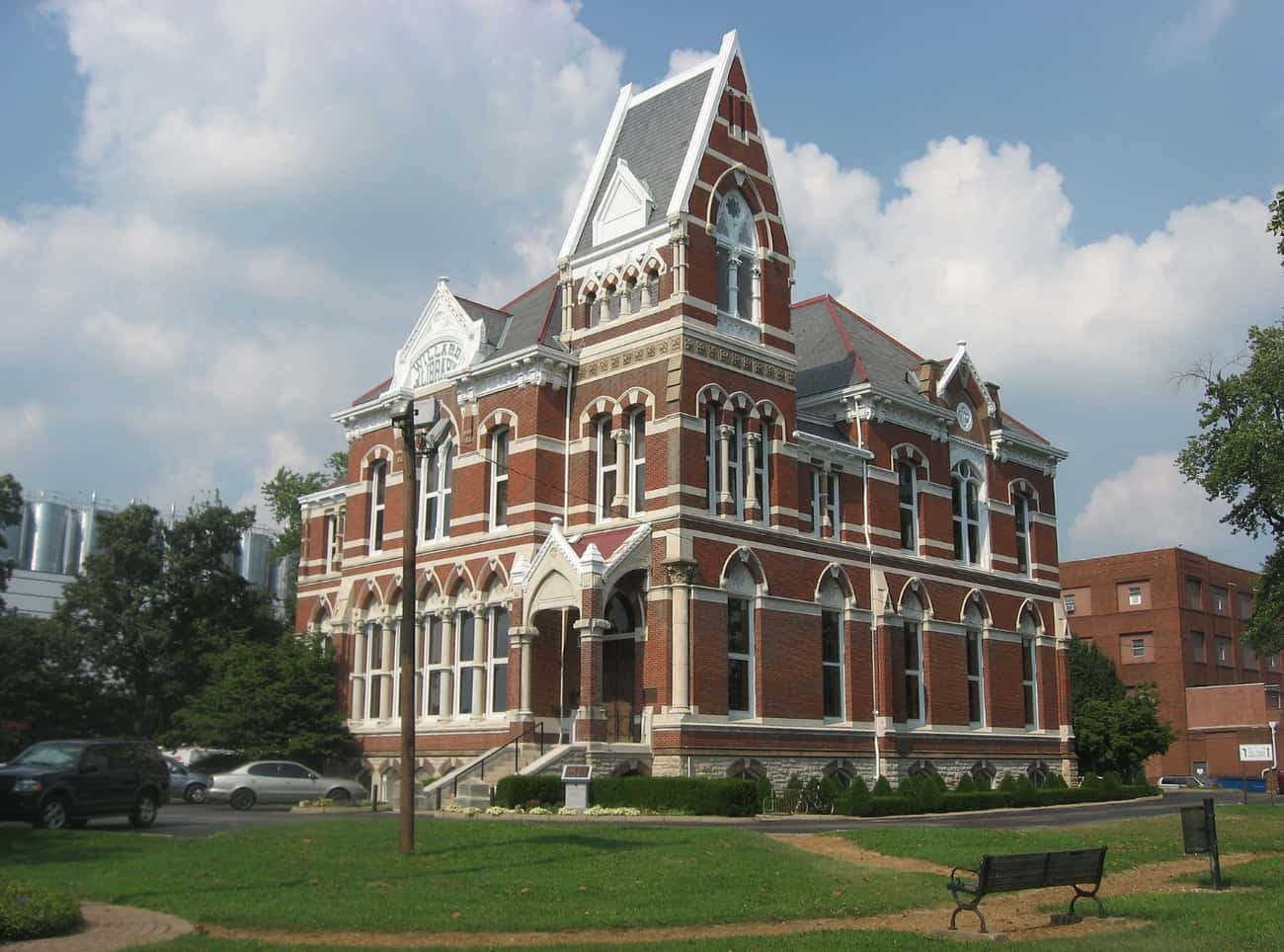 The Willard Library's Lady is listed (or ranked) 1 on the list Creepy Stories and Urban Legends from Indiana