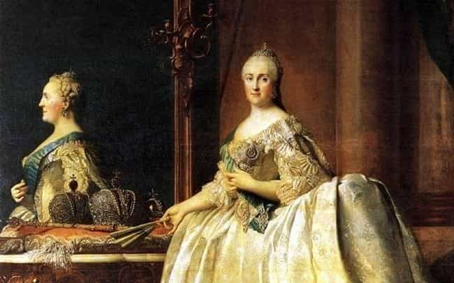 Catherine the Great Found Her ... is listed (or ranked) 3 on the list 7 Historical Figures Who Claimed to Have Been Visited by Ghosts... of Themselves